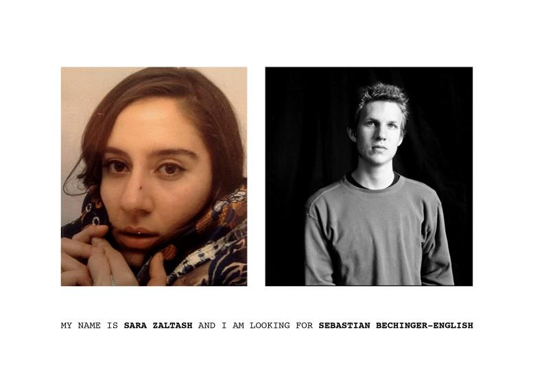 My name is Sara Zaltash and I am looking for Sebastian Bechinger-English